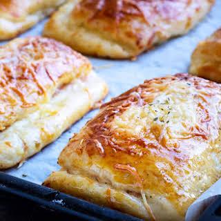 Ham and Cheese Brioche Pockets.