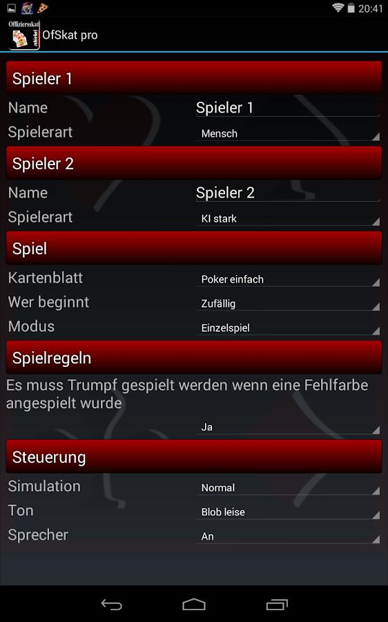 Officers Skat pro- screenshot
