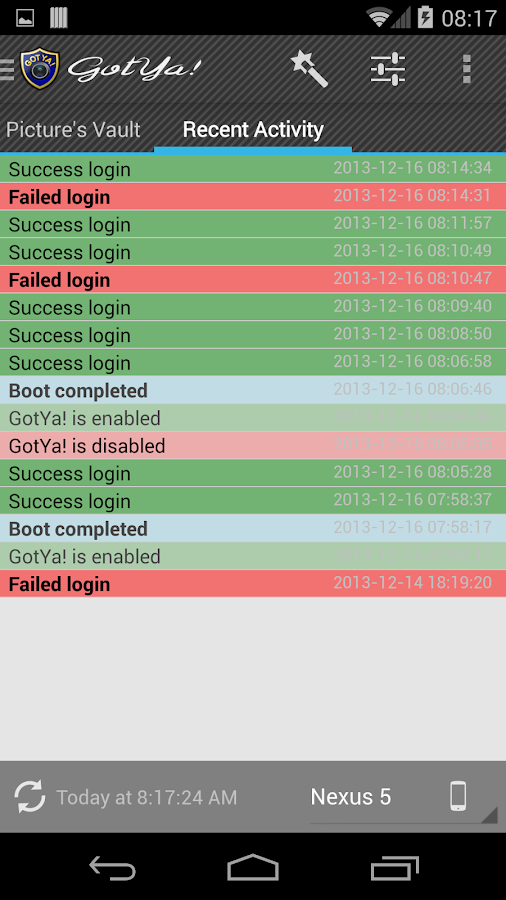 GotYa! Security & Safety - screenshot