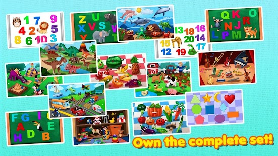 Awesome Shape Puzzles for Kids - screenshot thumbnail