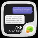 GO SMS Pro Zkb Theme EX icon