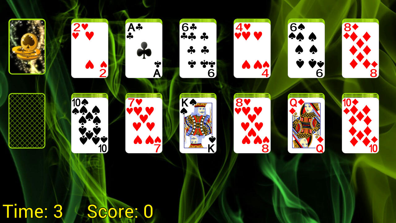 Doublets Solitaire - screenshot