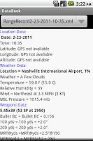 Screenshot of DataBook