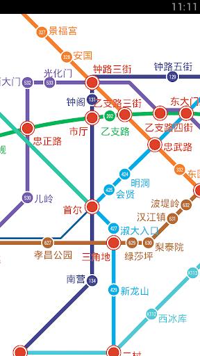 飞酷易 韩国旅游 - 韩国地铁,首尔地铁
