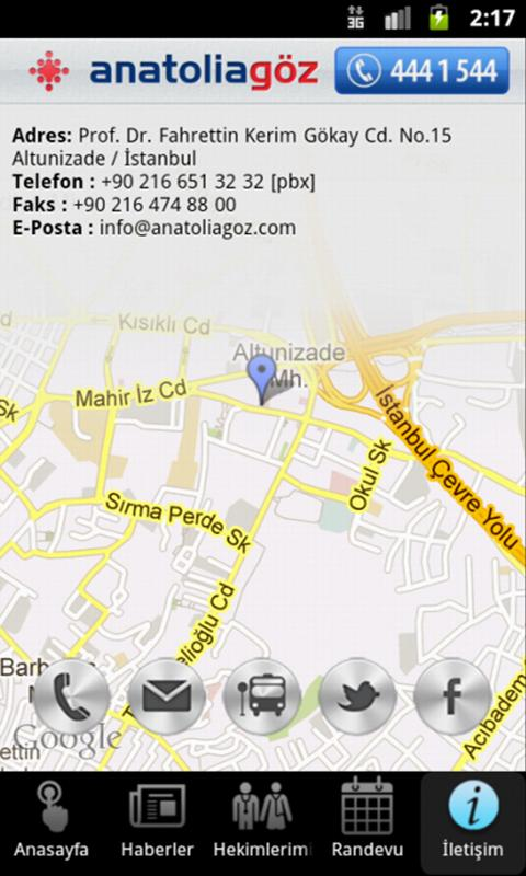 Anatolia Göz- ekran görüntüsü