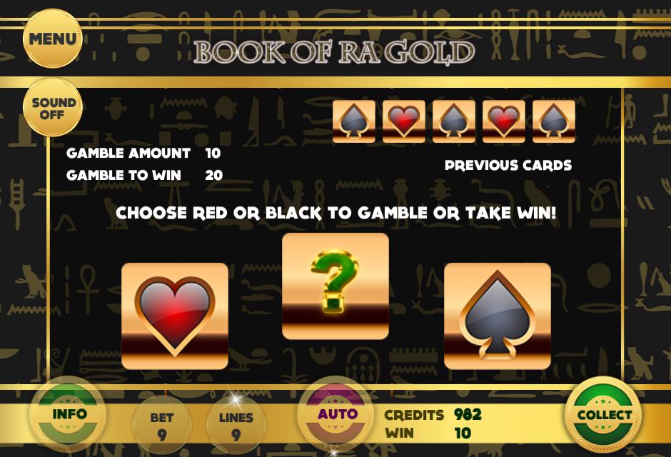 book of ra gold