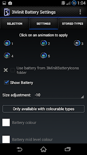 3Minit Battery Settings (PAID) - screenshot thumbnail