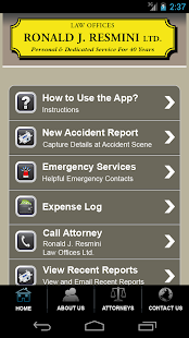 Accident App by Ronald Resmini- screenshot thumbnail