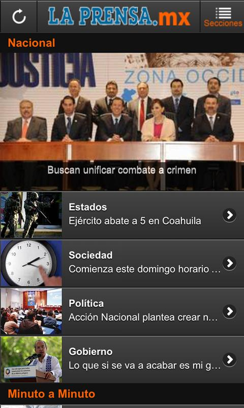 LaPrensa.mx- screenshot