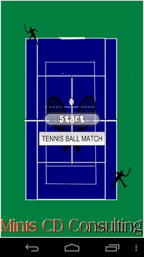 Tennis Ball Match for Kids