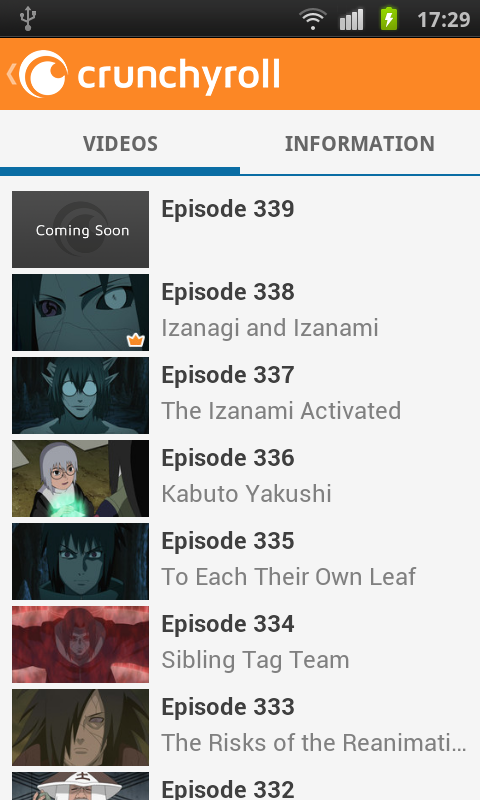 Crunchyroll - Anime and Drama - screenshot