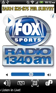 WSBM 1340 FOX SPORTS RADIO - screenshot thumbnail