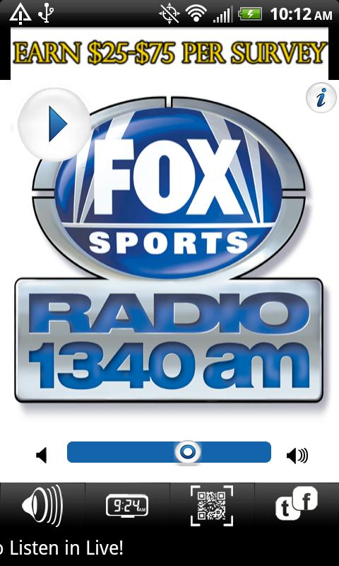 WSBM 1340 FOX SPORTS RADIO - screenshot