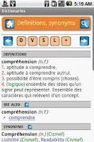 Screenshot of Xeladico dictionaries