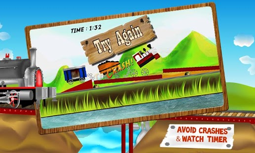 Bridge The Train - Kids Game - screenshot thumbnail