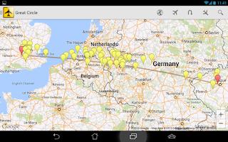 Screenshot of Airport Distance