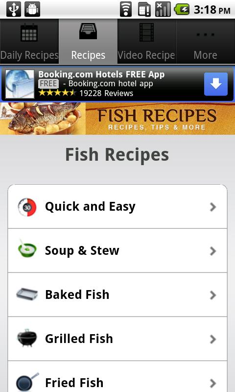 Fish Recipes!- screenshot