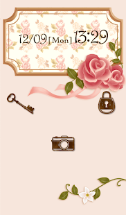 Cute wallpaper★Vintage rose - screenshot thumbnail