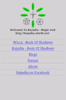 Screenshot of Bujudia/Wicca Book Of Shadows