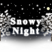 Snowy Night Live Wallpaper