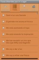 Screenshot of Frases para ir a cagar Free