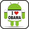 I Love Obama doo-dad icon