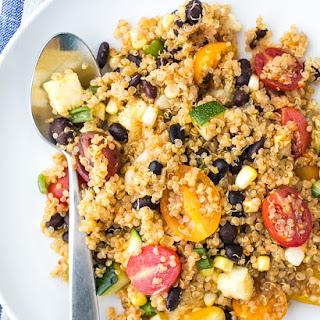 Southwestern Black Bean Quinoa Salad Recipe