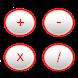 Basic Calculator Red