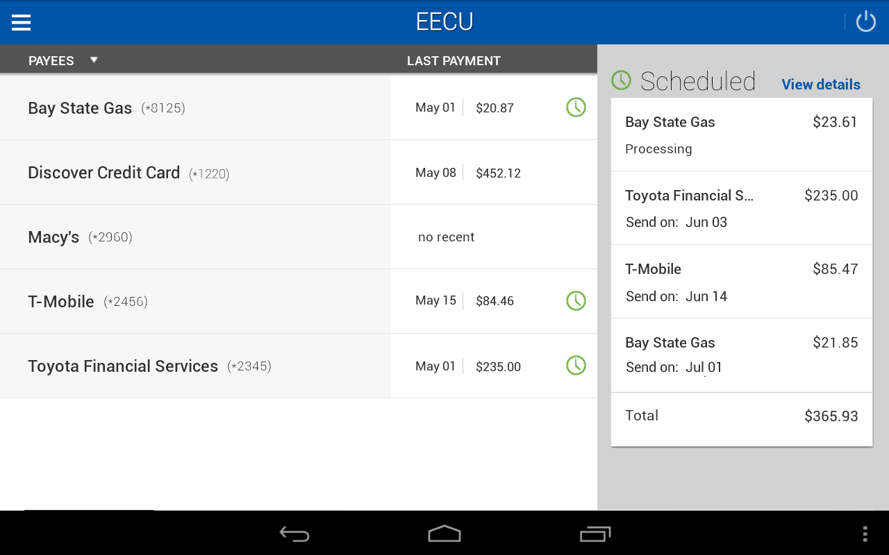 EECU- screenshot