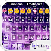 Purple Lightning Emoji Skin⚡️