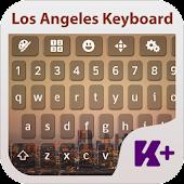 Los Angeles Keyboard Theme