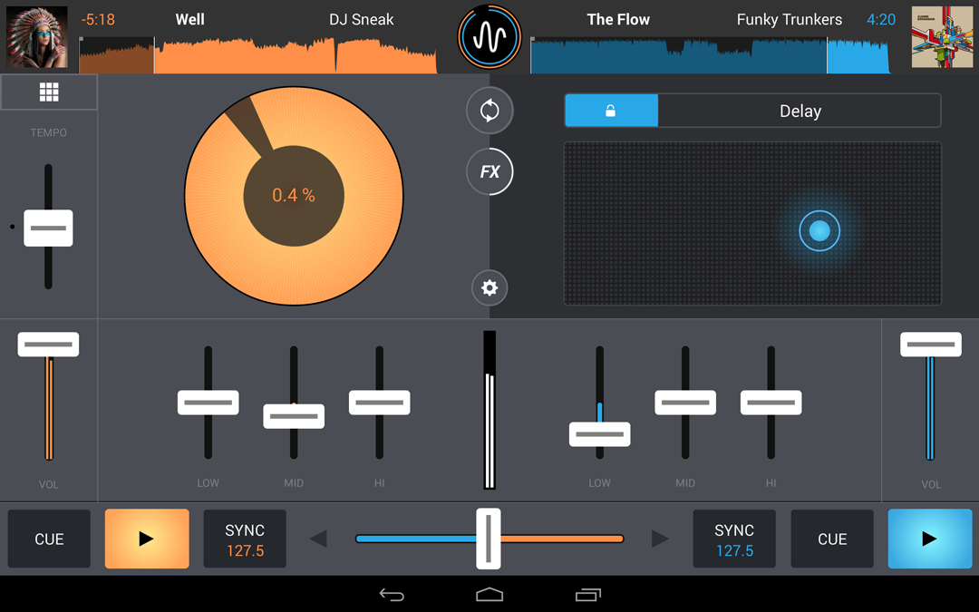 Cross DJ Pro - screenshot