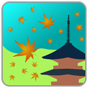Kyoto Autumn Scenery icon