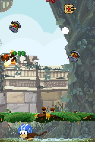 Monkey vs Robots Lite - screenshot