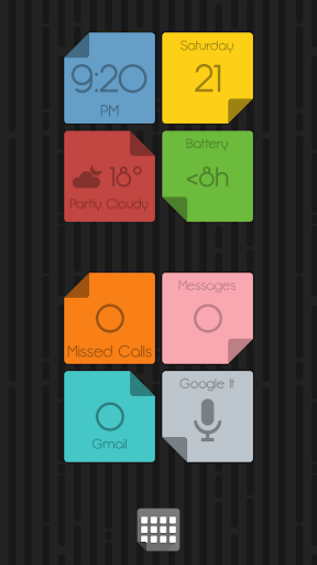 Colourant Widgets