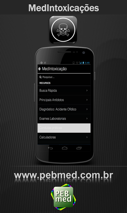 MedIntoxicações - screenshot