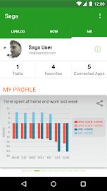 Saga — Automatic Lifelogging Screenshot 3