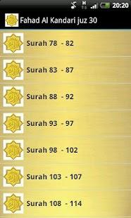 Fahad Al Kandari Quran MP3 - náhled