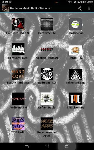 Hardcore Music Radio Stations