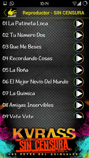 #12. Grupo Kvrass (Android)