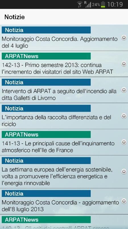 ARPAT- screenshot
