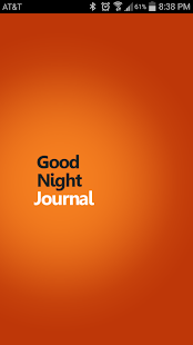 GoodNight Journal- screenshot thumbnail