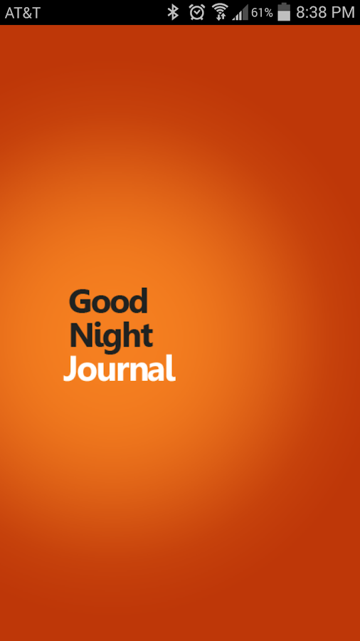 GoodNight Journal- screenshot