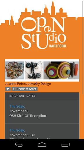 Open Studio Hartford 2014