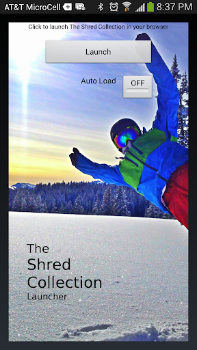 The Shred Collection Launcher