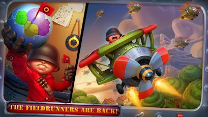 Fieldrunners 2 v1.2 apk +data