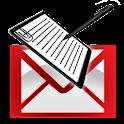 メール de アンケート logo