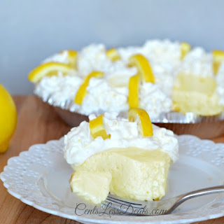 Creamy Lemon Pie recipe with only 4 ingredients!