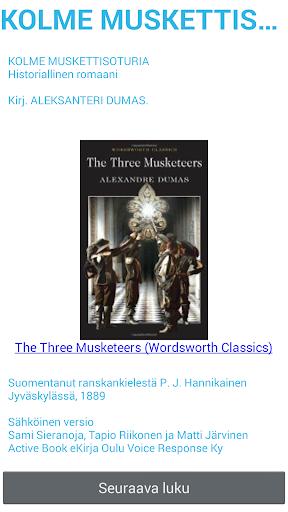 Kolme Muskettisoturia - Dumas