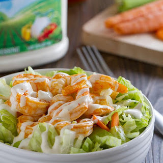 Buffalo Ranch Shrimp Salad